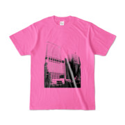 Tシャツ ピンク Shinjuku_Building