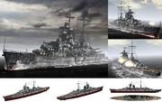MMD用モブ重巡洋艦1941(プリンツモブゲン)セット
