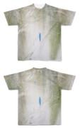 Tシャツ フルグラフィック 苔壁