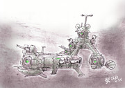 球連邦軍駆逐艦「ボウルサイ」