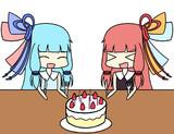 茜ちゃん葵ちゃん誕生日おめでとう!