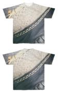 Tシャツ フルグラフィック ビンテージ布