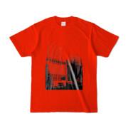 Tシャツ レッド Shinjuku_Building