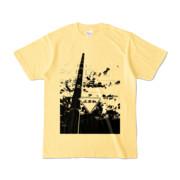 Tシャツ ライトイエロー STOP!!!