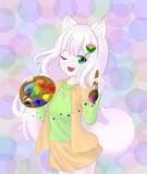 狐尾猫ですにゃん~ (๑>ᆺ<๑)✧