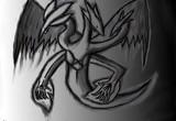 なにかのドラゴン(?)を描いてみた