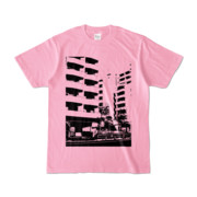 Tシャツ ピーチ Ikebukuro_Building