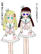 グレカーレの大きい妹・エスペロ(女装子提督)