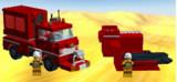 LDDで消防用コンテナ車作ってみた。