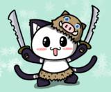 ポジティブ猫ヤミー君  「鬼滅の刃 嘴平伊之助」