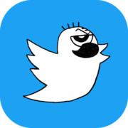Twitterのアイコンの鳥じーさん