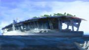 航空母艦「赤城」 -ZOOM-