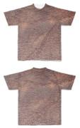Tシャツ フルグラフィック 茶色の革くん