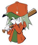 カクカク野球少女