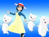 【MMD-OMF10】Natumi & モナー系AAキャラ【モデル配布】