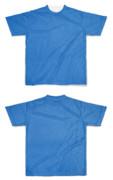 Tシャツ フルグラフィック ブルー生地