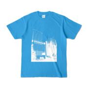 Tシャツ ターコイズ Shinjuku_Building