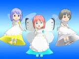 【MMD-OMF10】一般妖精【モデル配布】