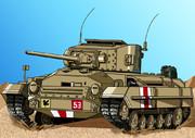 【再掲】大英帝国バレンタイン歩兵戦車