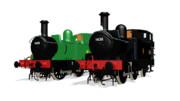 [MMDモデル配布]GWR 1400 class 蒸気機関車