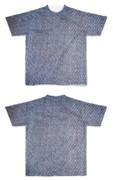 Tシャツ フルグラフィック デニデニム