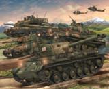 旭日の戦車隊
