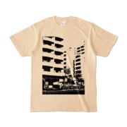 Tシャツ ナチュラル Ikebukuro_Building