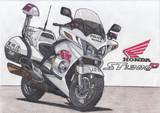 もしも警視庁がST1300を白バイとして採用したら…?