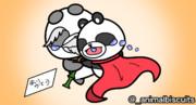 パンダ家族【あにまるびすけっと】