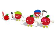 【MMD-OMF10】りんごの精組合