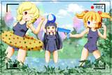 お題箱:水浴び三妖精