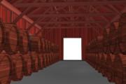 【MMD-OMF10】bst20200503ウイスキー貯蔵庫