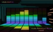 【MMD-OMF10】オーディオスペクトラムステージtype2