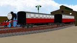 モデル改造(急行客車P2)