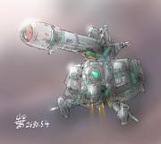 直接支援砲型MS「ビッグサム」