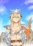 女騎士とドラゴン