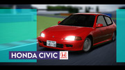 【OMF10】HONDA CIVIC 【MMD自動車配布あり】