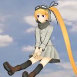【MMD-OMF10】瑞雲(六三四空)の妖精さんを人間サイズにしてみた【艦これ】