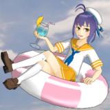 【MMD-OMF10】瑞雲12型(六三四空)の妖精さんを人間サイズにしてみた【艦これ】