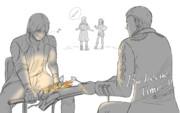 [ネタ楽書き]BarbecueTime!!