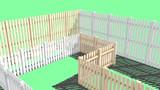 【MMD-OMF10】ピケットフェンス