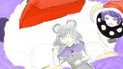 【第12回東方ニコ童祭ED絵】スイートドリーム