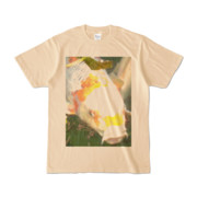 Tシャツ ナチュラル 人面魚ちゃん