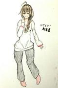 時雨さんとお絵描き練習7