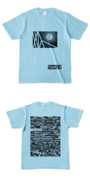 Tシャツ ライトブルー TANKER-B.MOON