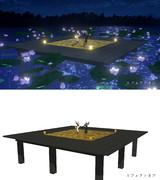 【MMD-OMF10】床と照明ステージ