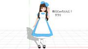 【MMD-OMF10】サラリ【MMD萌えCan】