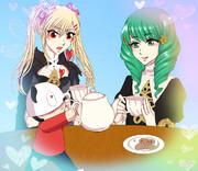 メロメロなお茶会