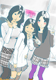 寺田さんちの美人3姉妹