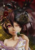 和風の少女